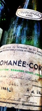 Red wine, Romanée Conti 1961