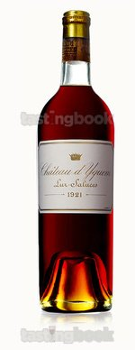 Sweet wine, d'Yquem 1921