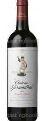 Red wine, Château D´Armailhac 1989