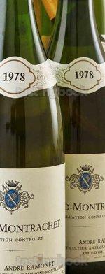 White wine, Batard-Montrachet 1978