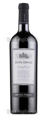 Red wine, Don David Malbec Reserve 2011