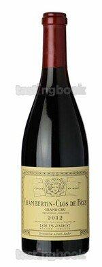 Red wine, Chambertin Clos de Bèze 2012