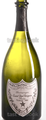 Sparkling wine, Dom Pérignon Rosé 1986