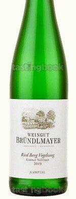 White wine, Grüner Veltliner Berg-Vogelsang 2019