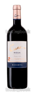 Red wine, Cune Reserva 2010