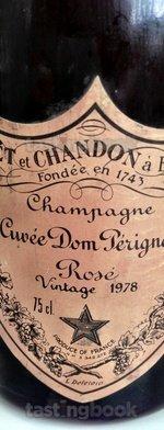Sparkling wine, Dom Pérignon Rosé 1978