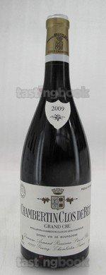Red wine, Chambertin Clos de Bèze 2009