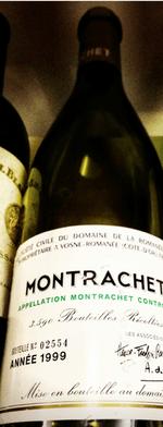 White wine, Montrachet 1999