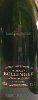 Sparkling wine, Vieilles Vignes Françaises 1997