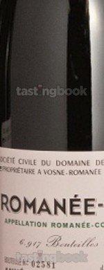 Red wine, Romanée Conti 1978