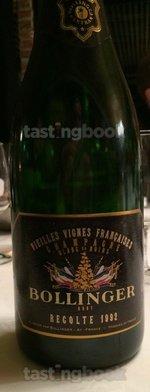 Sparkling wine, Vieilles Vignes Françaises 1992