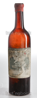 Red wine, Cheval Blanc 1911
