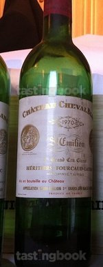 Red wine, Cheval Blanc 1970