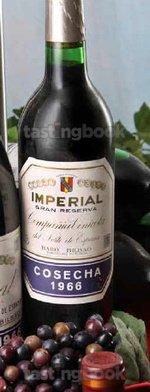 Red wine, Imperial Gran Reserva 1966