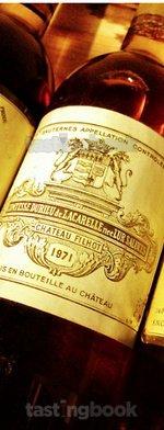 Sweet wine, Château Filhot 1971