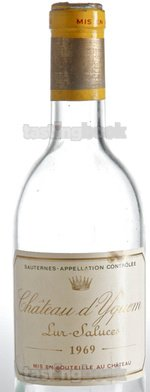 Sweet wine, d'Yquem 1969