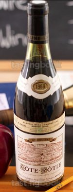 Red wine, Côte-Rôtie La Mouline 1969