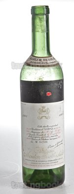Red wine, Château Mouton-Rothschild 1961
